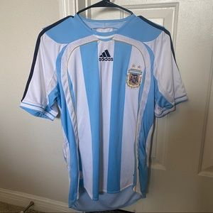Adidas Argentina official Soccer Team Jersey